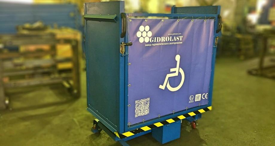 Фото подъемника для инвалидной коляски