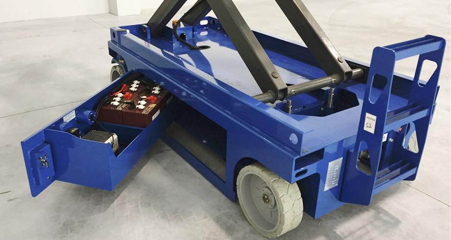 Гидростанция смазки для ножничной подъемной платформы